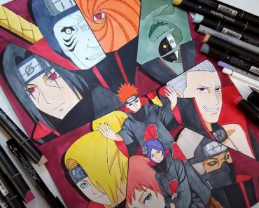 How to draw AKATSUKI Characters