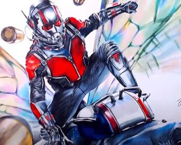 How to draw ant man from avengers endgame