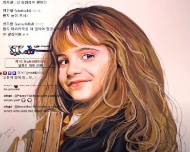 How to paint Hermione (Emma Watson) from Harry Potter