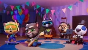 My Talking Tom Friends - FINALLY All Together - Together the concert!