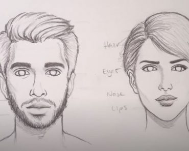 How to Draw Faces by pencil for beginners