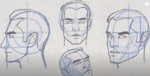 How to Draw a Face from any Angle by pencil