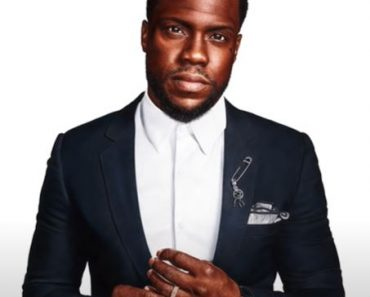 Kevin Hart drawing with pencil