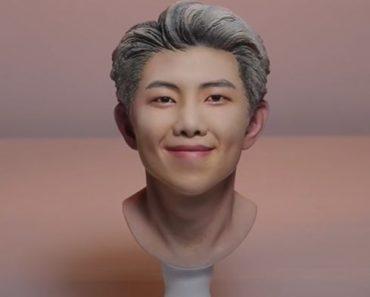 RM BTS sculpting