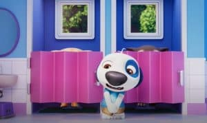 Toilet Drama in My Talking Tom Friends - Official Trailer 3