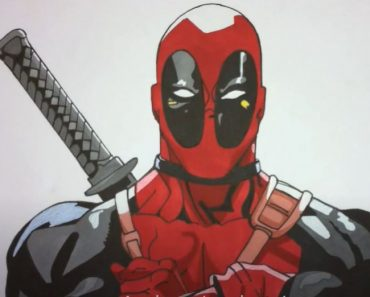 How To Draw Deadpool for beginners