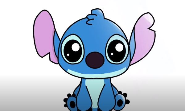 How To Draw Stitch From Lilo And Stitch How To Draw Step By Step