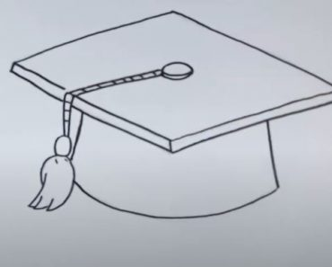 How to Draw a Graduation Cap Step by Step