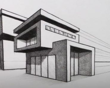 How to Draw a House step by step for beginners