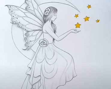 How to draw Fairy Dreams Scenery by pencil