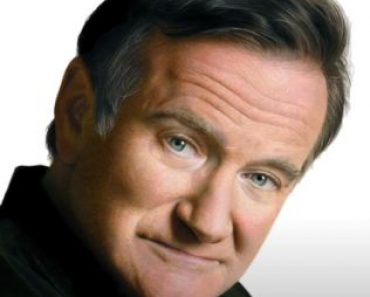 Robin Williams drawing with pencil