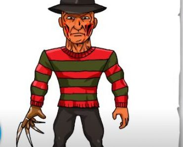 How to Draw Freddy Krueger Step By Step