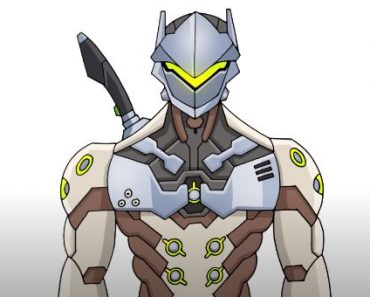 How to Draw Genji from Overwatch for Beginners