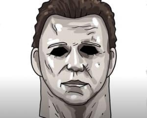 How to Draw Michael Myers step by step