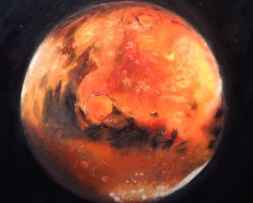 How to Paint Mars Step by step