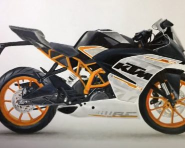 How to draw Bike step by step - KTM RC 390 Bike Drawing