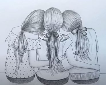 Best Friends Drawing for Beginners