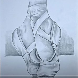 How to Draw Ballet Shoes Easy for beginners