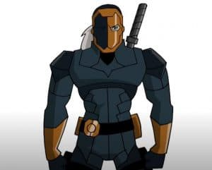 How to Draw Deathstroke Step by Step