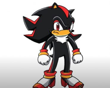 How to Draw Shadow the Hedgehog Step By Step