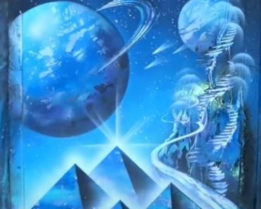 Pyramids and Space Painting - SPRAY PAINT ART