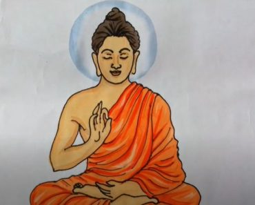 How to Draw Buddha step by step