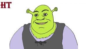 How to Draw Shrek