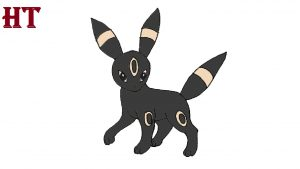 How to Draw Umbreon