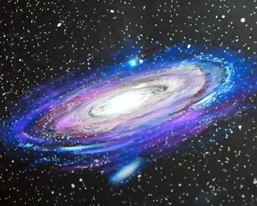 How to Draw a Galaxy Step by step