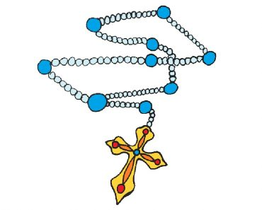 How to Draw a Rosary