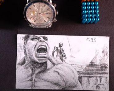 Hulk Smash Flipbook - Flip Book Artist 2020