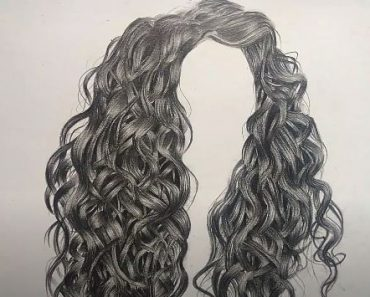 How to Draw Curly Hair Step By Step