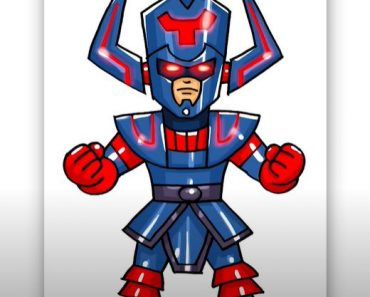 How to Draw Galactus Step By Step