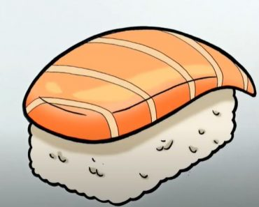How to Draw Sushi Step by Step Easy