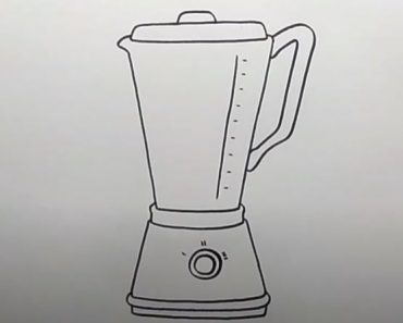 How to Draw a Blender Step by Step Easy