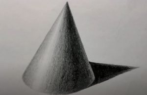 How to Draw a Cone Step By Step - 3D Drawing Tutorial