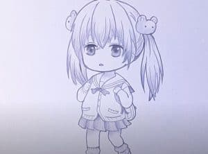 How to Draw a Cute Anime Girl Step by Step