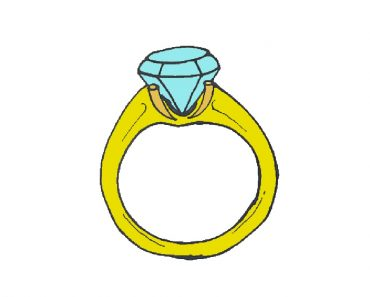 How-to-Draw-a-Diamond-Ring
