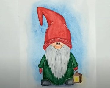 How to Draw a Gnome Step By Step