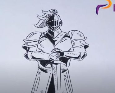 How to Draw a Knight Easy for Beginners