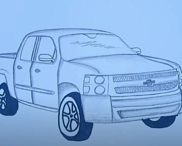 How to Draw a Truck Step by Step