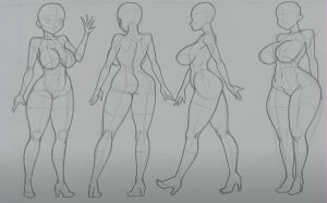 How to Draw an Anime Girl Body Step by Step