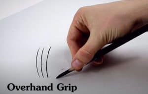 How to Hold a Pencil for Drawing