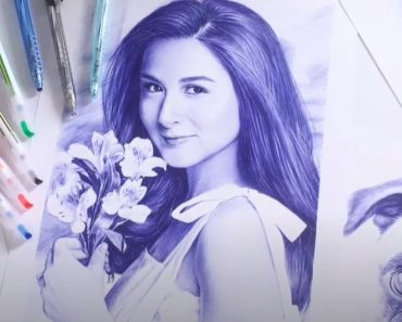 How to draw Beautiful Girl Step By Step - Marian Rivera Drawing