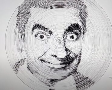 Mr Bean Drawing by Compa - Drawing On Ipad pro