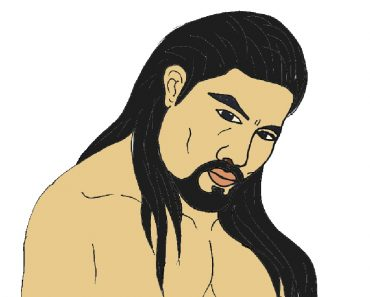 roman reigns drawing