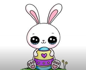 Easter bunny drawing step by step - How to Draw a Easter Bunny