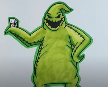 How To Draw Oogie Boogie Step by Step