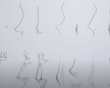 How to Draw Anime Nose Step by Step
