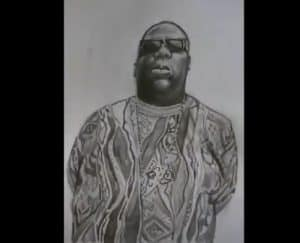 How to Draw Biggie Smalls Easy
